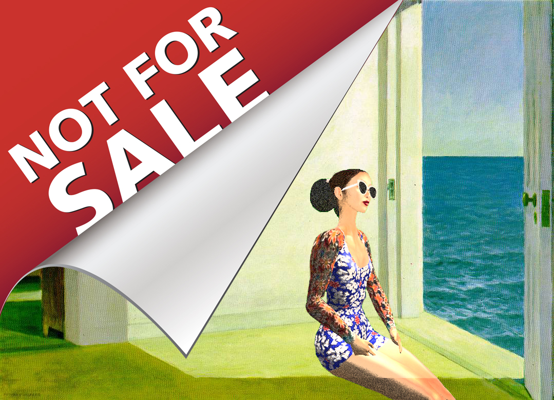 Rooms by the sea not for sale