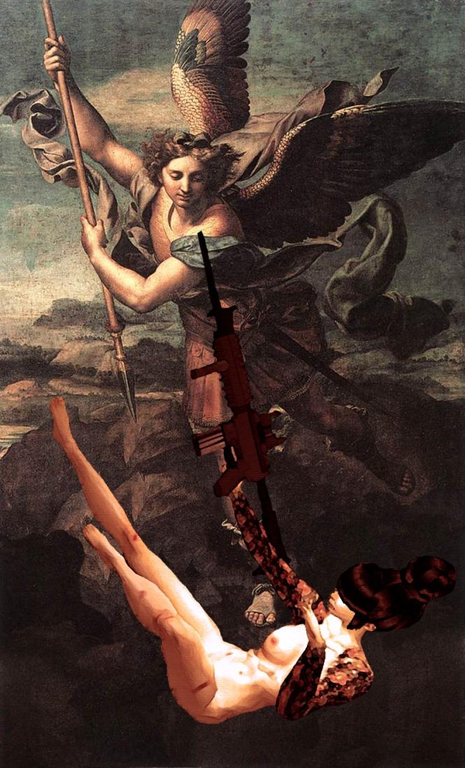 SaveMe vanquishing St Michael